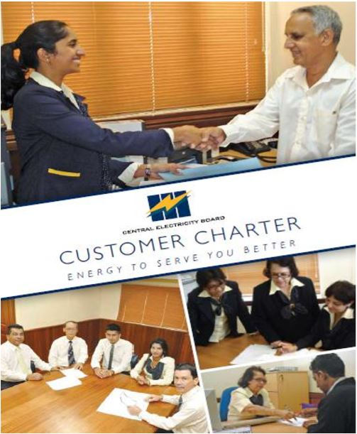 CUSTOMER CHARTER - ENERGY TO SERVE YOU BETTER